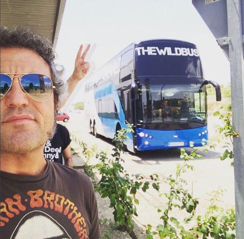 A punto de subir al Wid Bus. Foto: M Clan