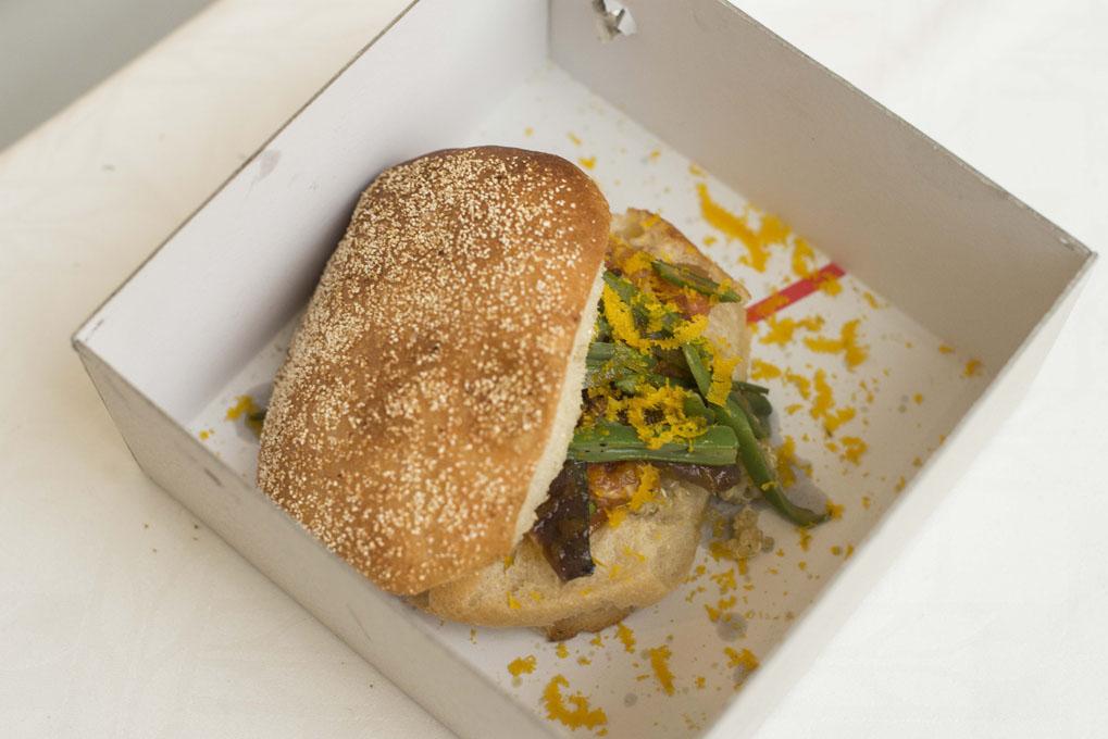 Concurso de hamburguesas en Madrid Fusion 2017 (el gran lebowsky). Foto: Alfredo Cáliz