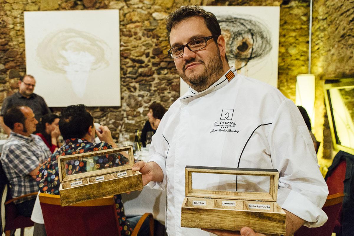 Restaurante Es Portal (Baix Empordà). Joan Carles Sánchez (1). Foto: César Cid