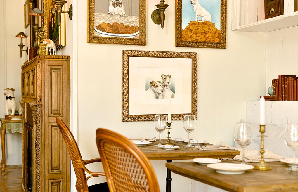 Salón de 'El perro y la galleta' de Madrid. Foto: elperroylagalleta.com