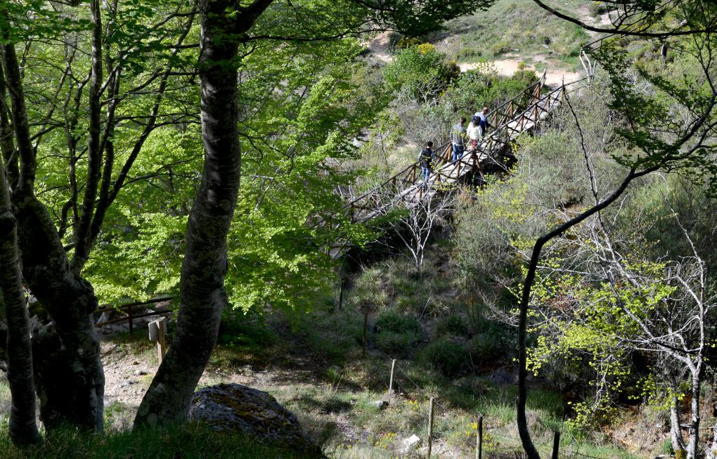 En Covalagua podemos hacer senderismo, e incluso un picnic o merienda campestre.