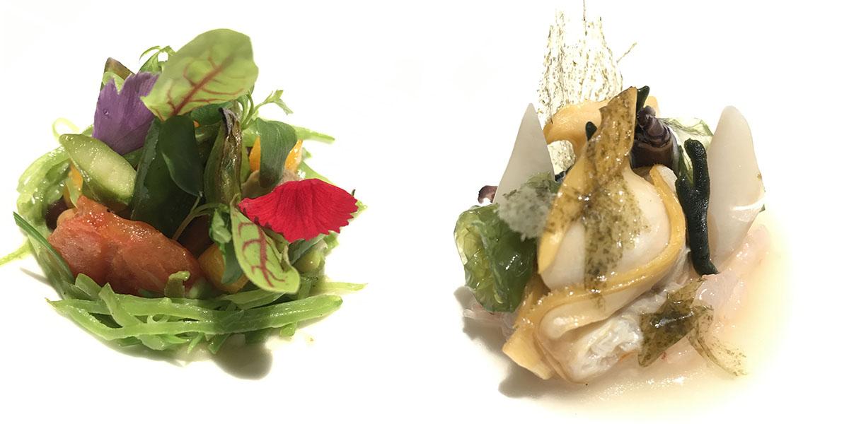 Restaurante Coque - 'Gastrogenómica' y 'mar de Humanes'. Foto: Sara Cucala