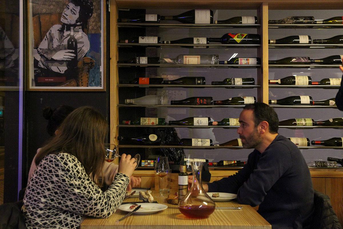 Restaurante Donosti - Essencia Wine (sala 2). Foto: Bixigarri
