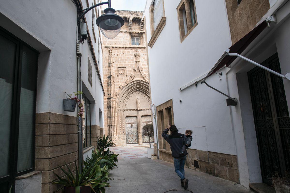 Calles del centro histórico de Jávea. Foto: Eva Máñez