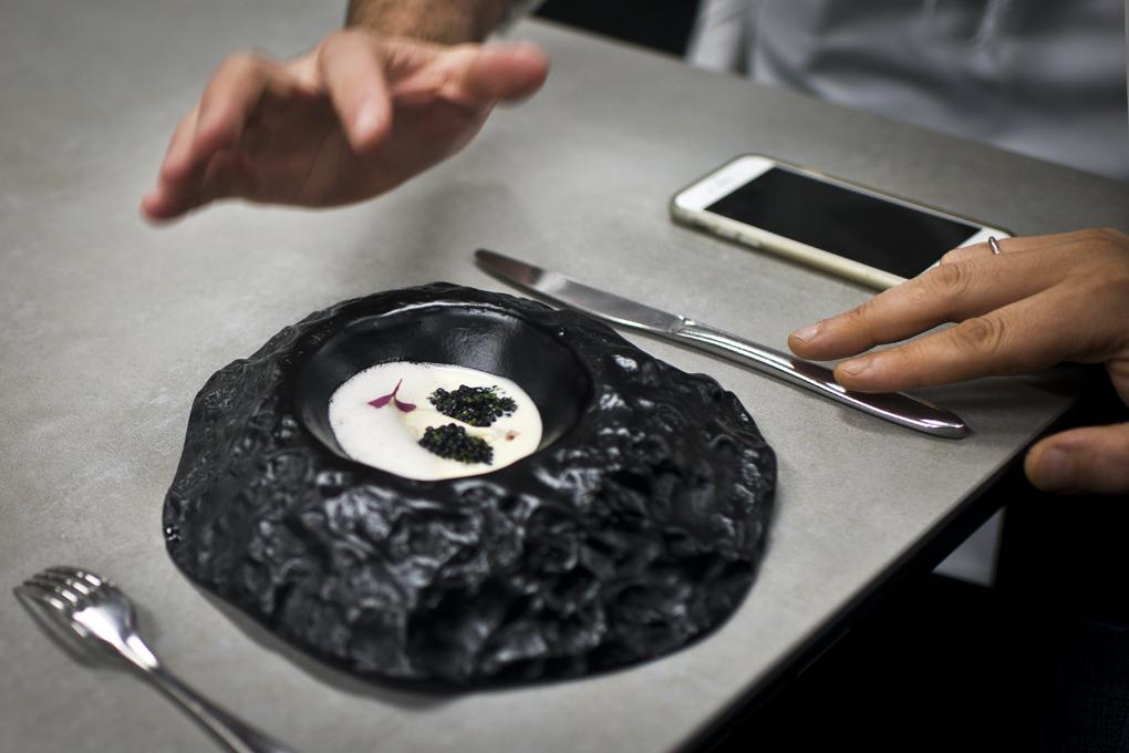 Caviar y rutabaga