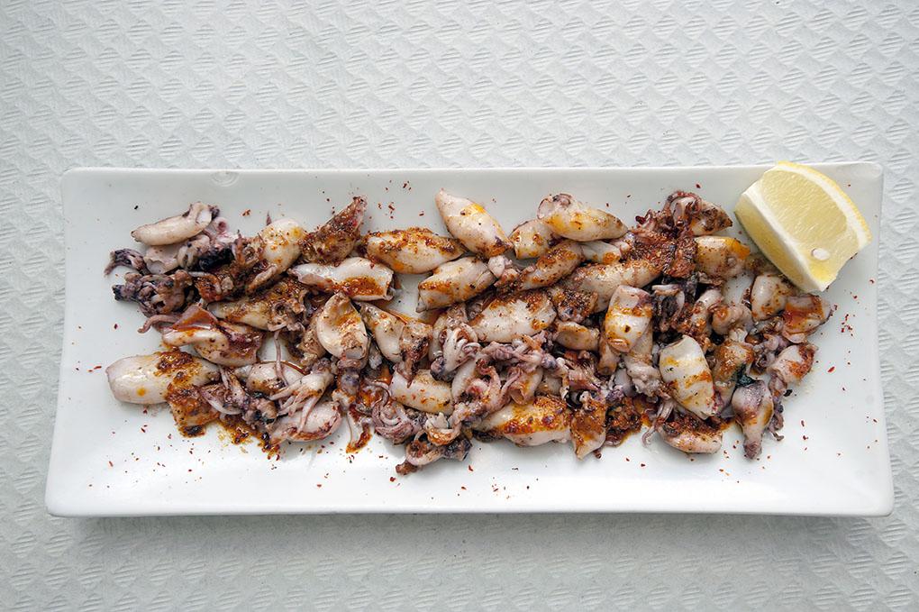 Restaurante Trinquete (Jávea) - calamarets - Foto: Rafa Molina
