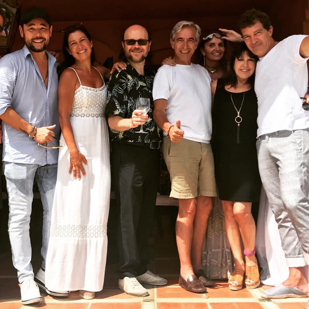 Con amigos por el sur. Foto: Instagram