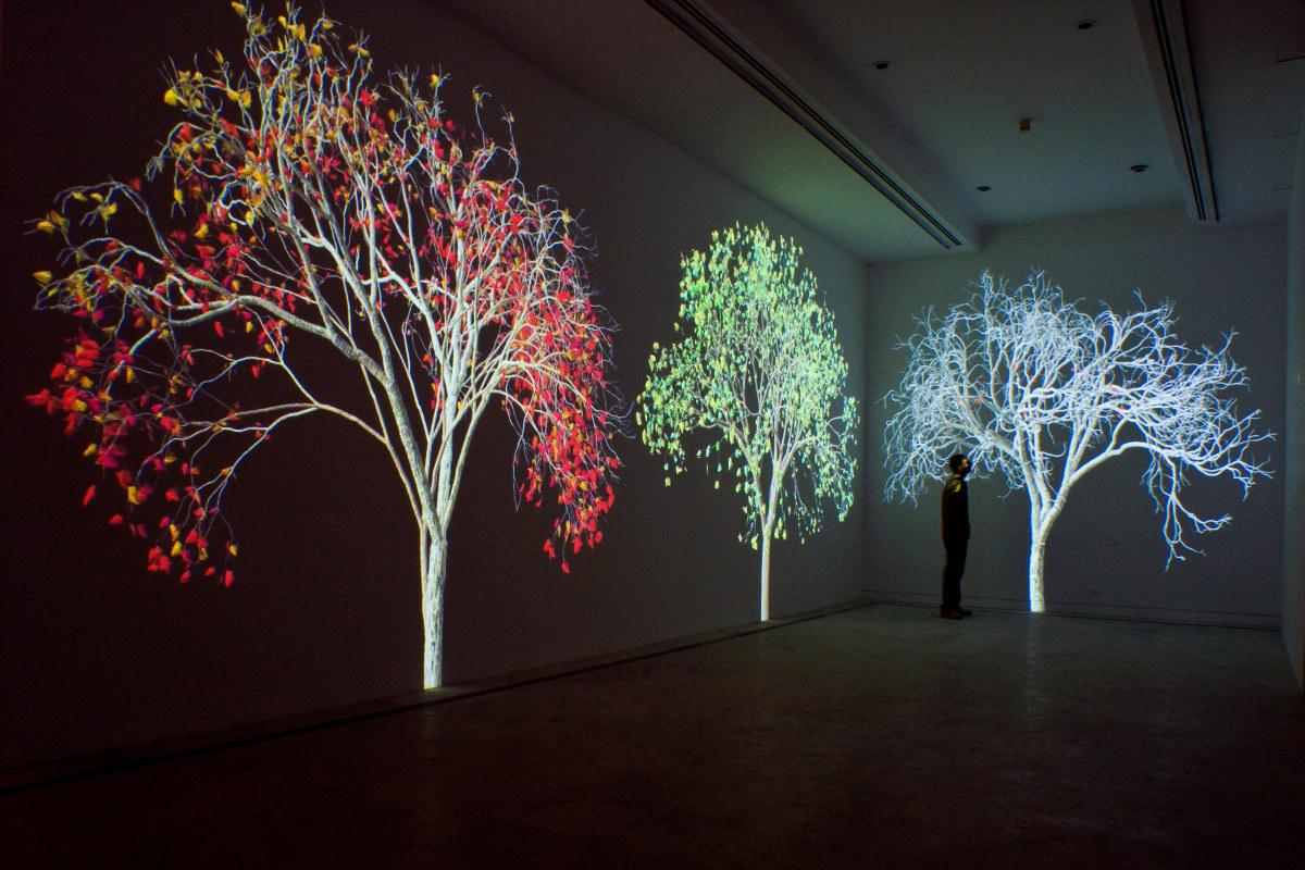 Naturaleza digital - Jennifer Steinkamp