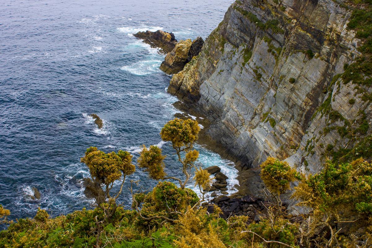 Las vistas desde O Fuciño do Porco, en la costa de Lugo, son impactantes. Foto: Shutterstock