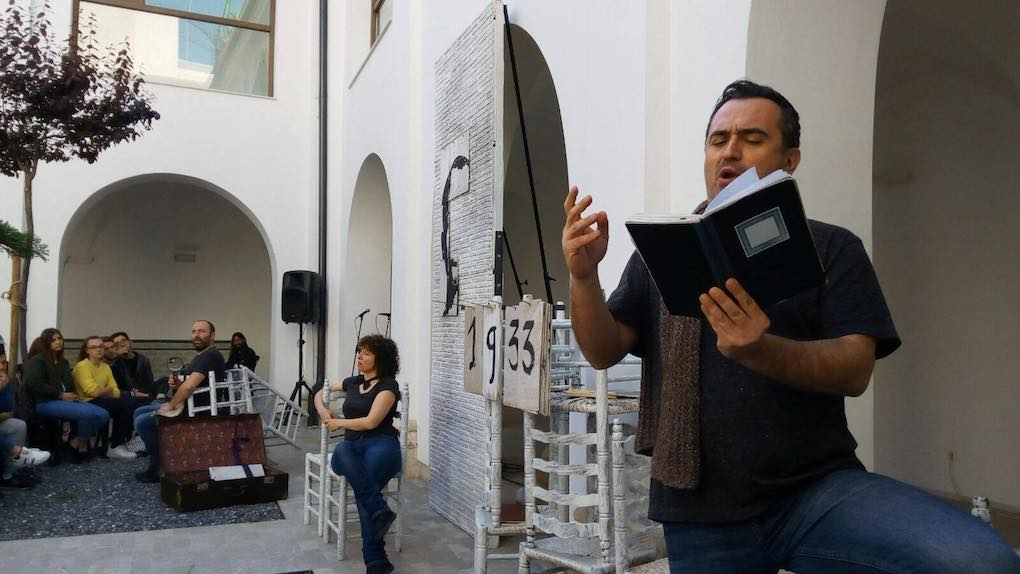 Talleres en la Biblioteca Pública Municipal María Moliner. Foto: Facebook