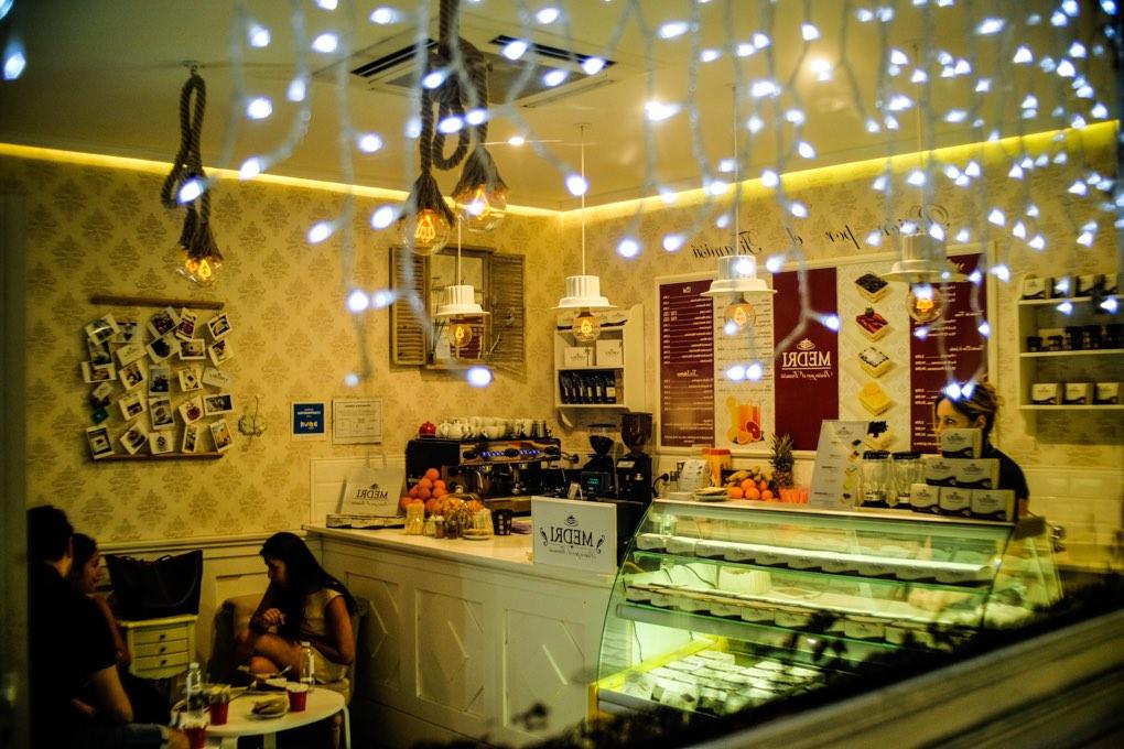 Interior de Medri café. Foto: Alfredo Cáliz