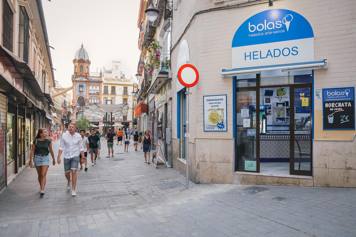 Heladerías de Sevilla: Bolas (1). Foto: Javier Sierra