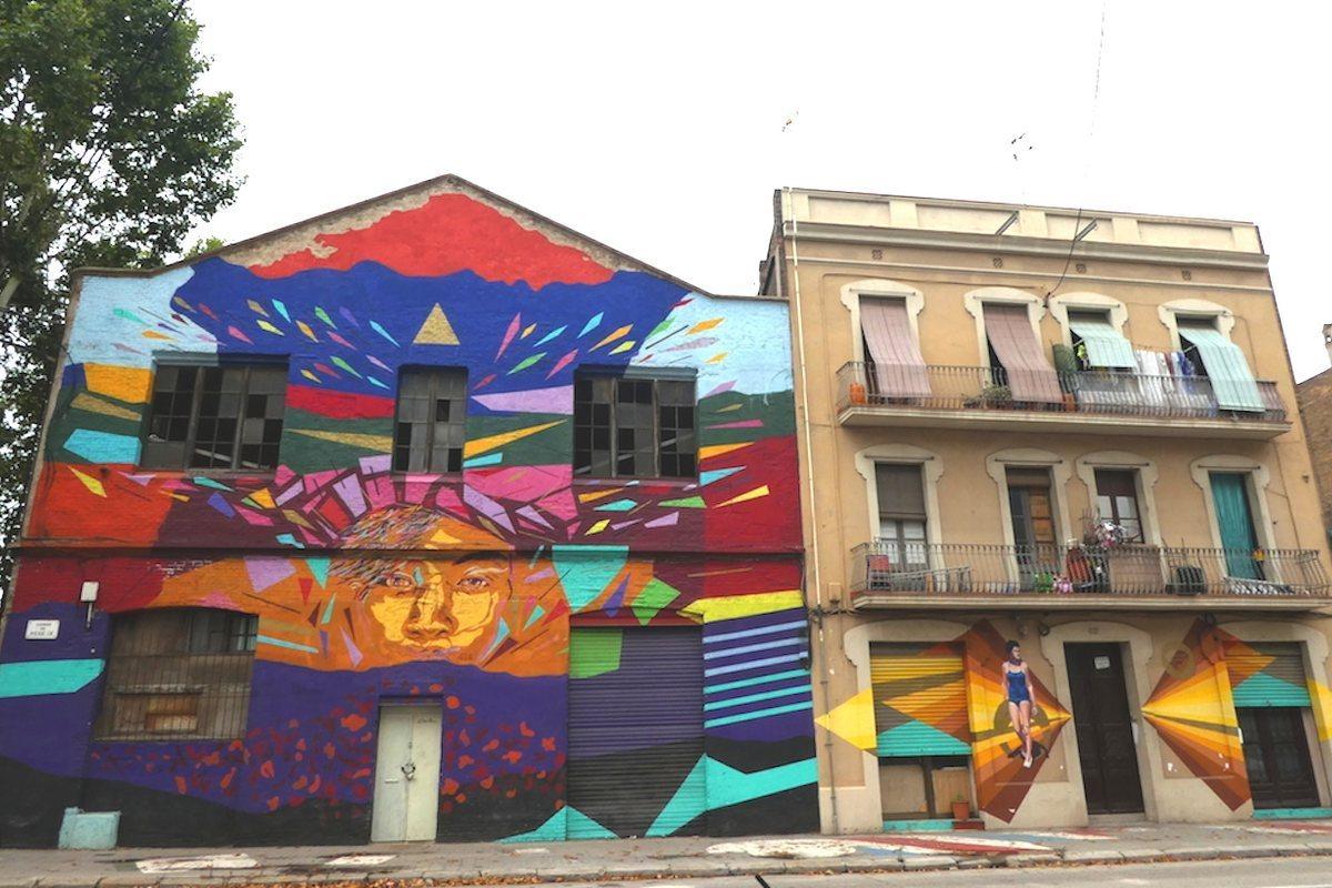 Graffiti Barcelona. Pere IV.