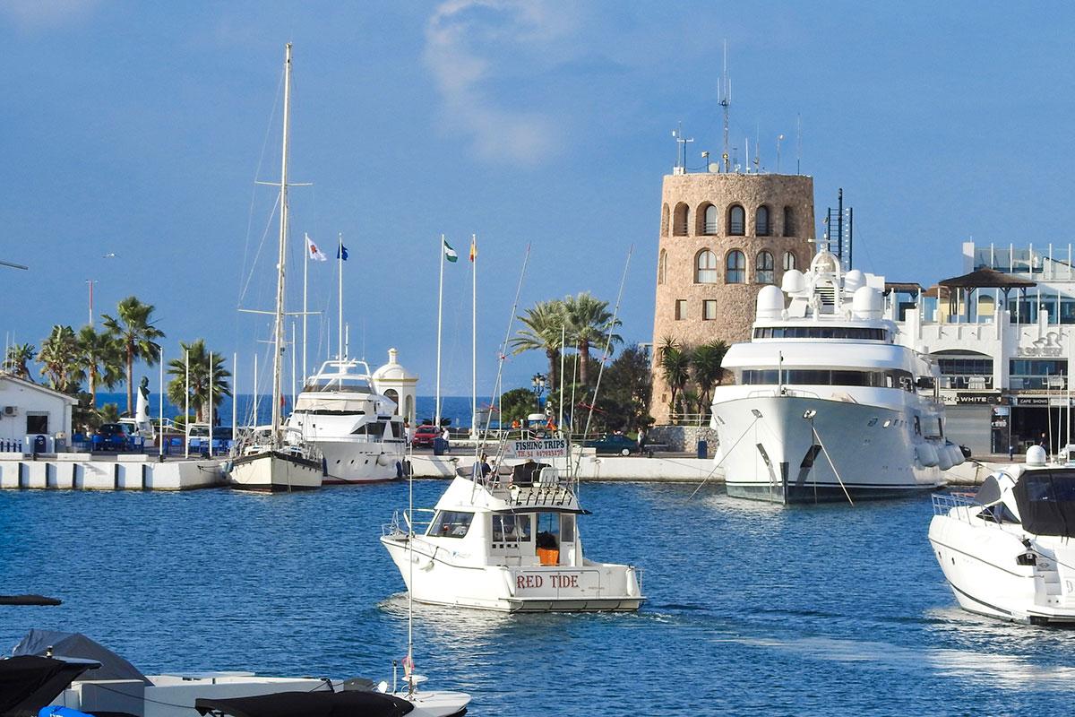 Pesca niños en Marbella