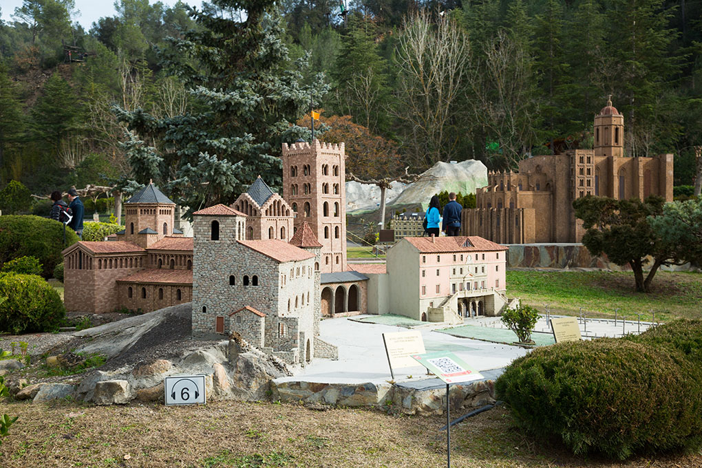 Parque Cataluña en Miniatura. Foto: shutterstock