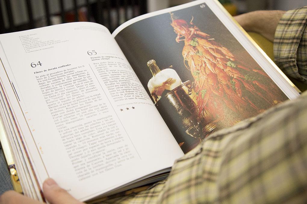 Libros sobre cocina: ilustración del libro 'Dalí'. Foto: A Punto Librería