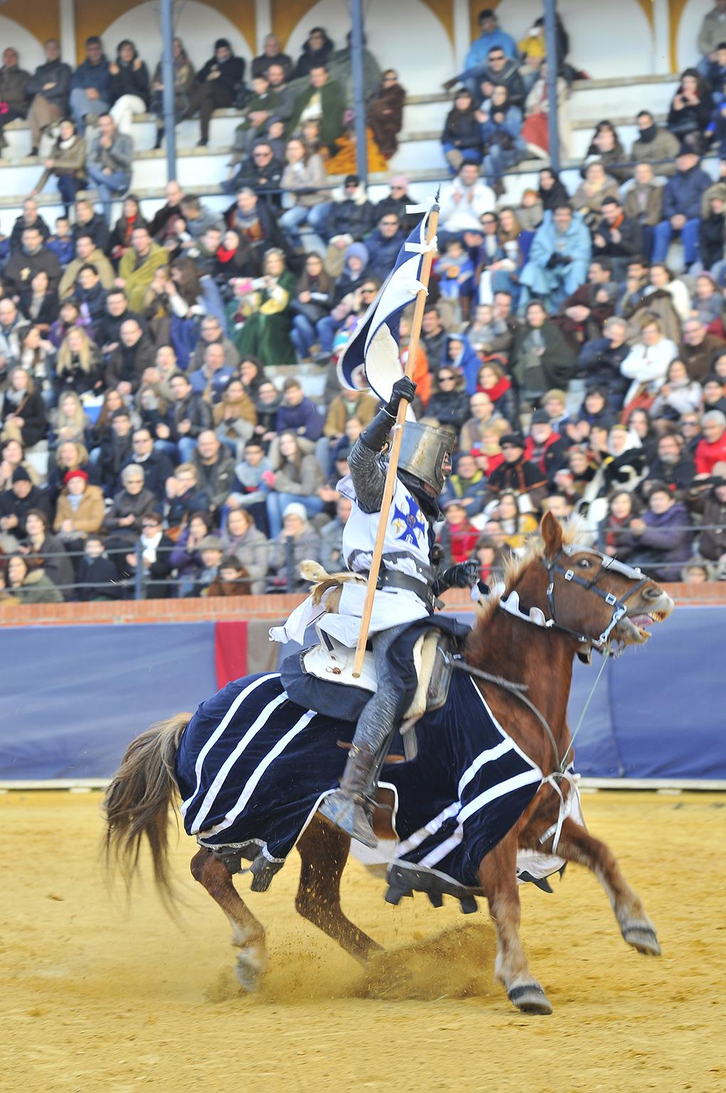La leyenda cuenta que cuando Diego de Marcilla salió a caballo, los amantes ya estaban casados. Foto: Diego & Lori