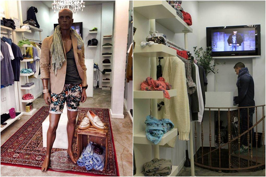 No sólo venden prendas de estilo italiano, también exclusividad, pues hay muy pocas prendas de cada modelo.