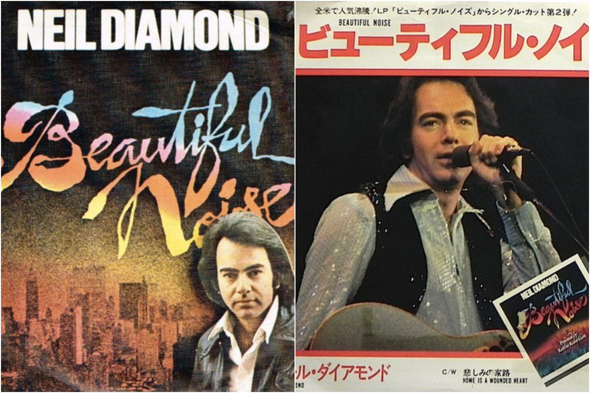 Collage de Neil Diamond. Fotos: Facebook