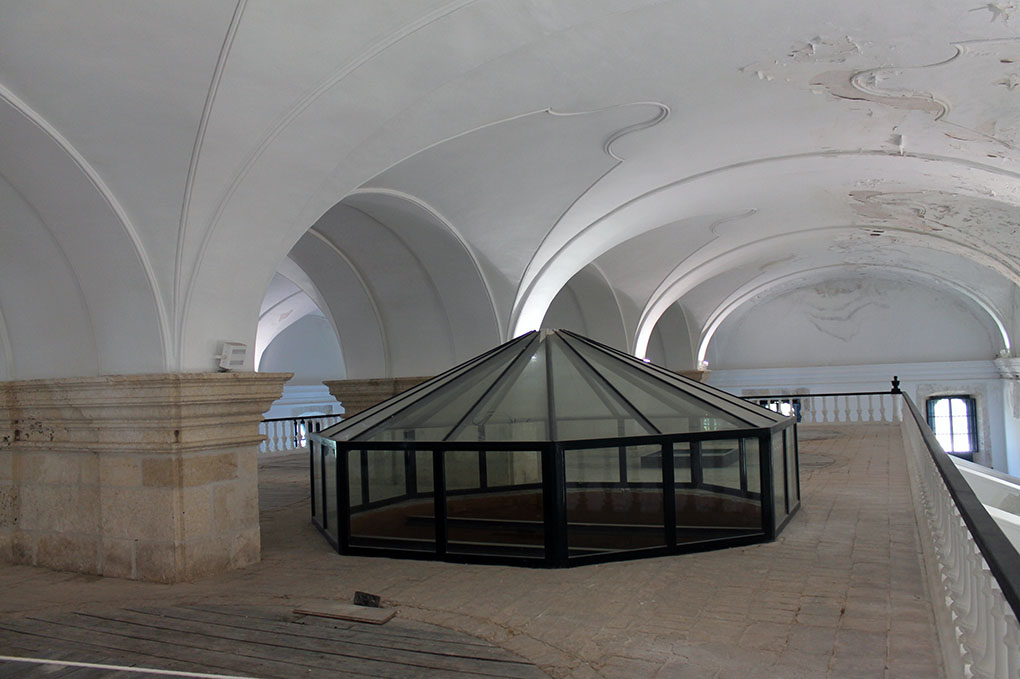 La 'Catedral del Aceite' en el Museo del Olivo. Foto: Edu Sánchez