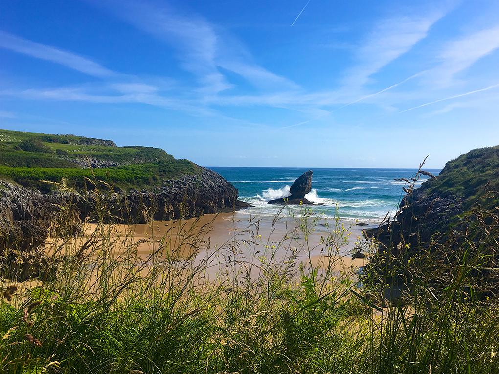 Playa de Buena. Ribadedeva. Asturias. Foto: Guillermo Calvo