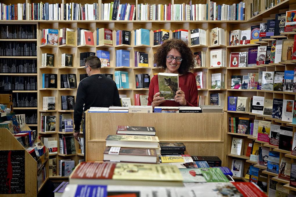 Librerías de Madrid: Interior de Antonio Machado. Foto: Roberto Ranero