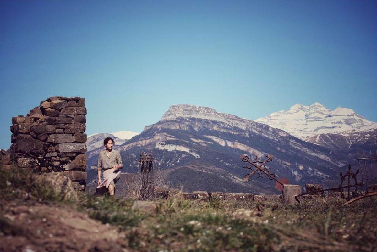 Con Monte Perdido de fondo. Foto: Instagram