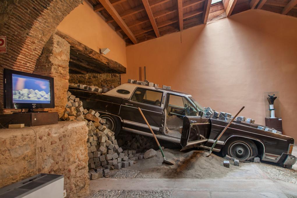 Aunque pueden parecer delirios, todo lo que hay dentro de este museo es arte. Foto: Cristina Candel.