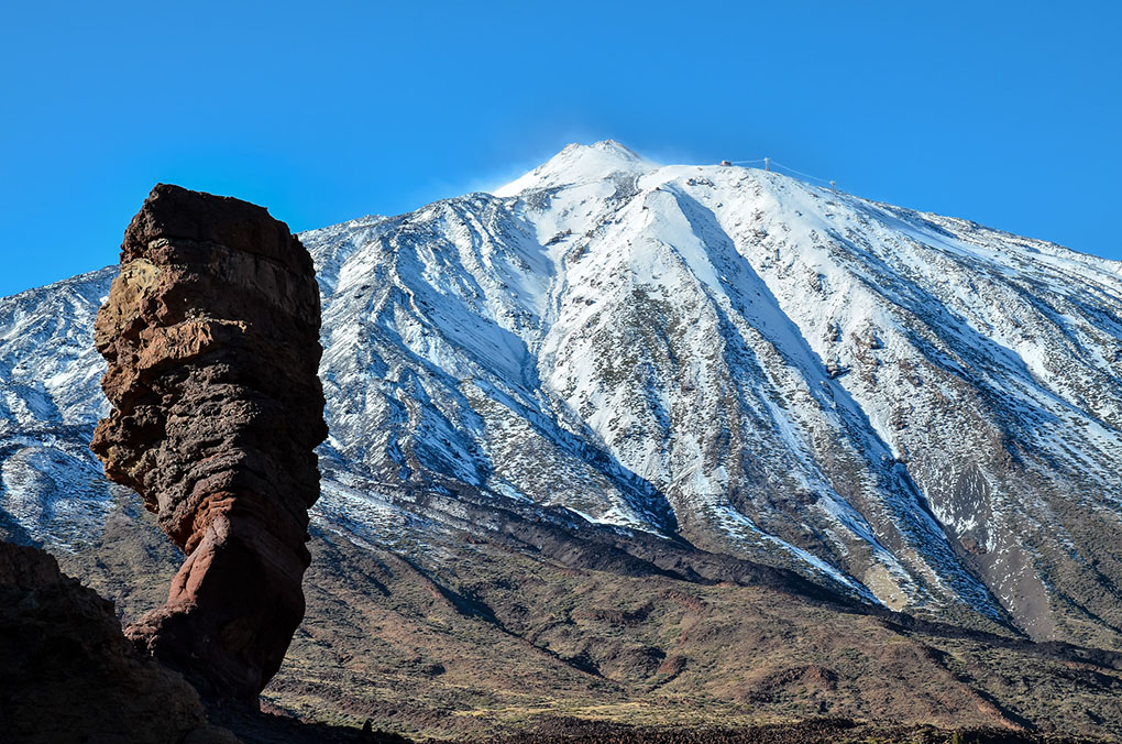 Volcanes de España: Teide. Foto: shutterstock