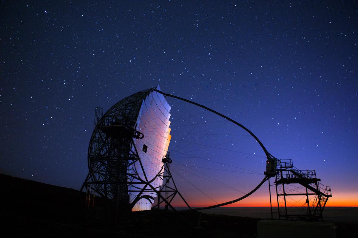 Observatorio Astronómico Internacional del Roque de los Muchachos. Foto: Shutterstock