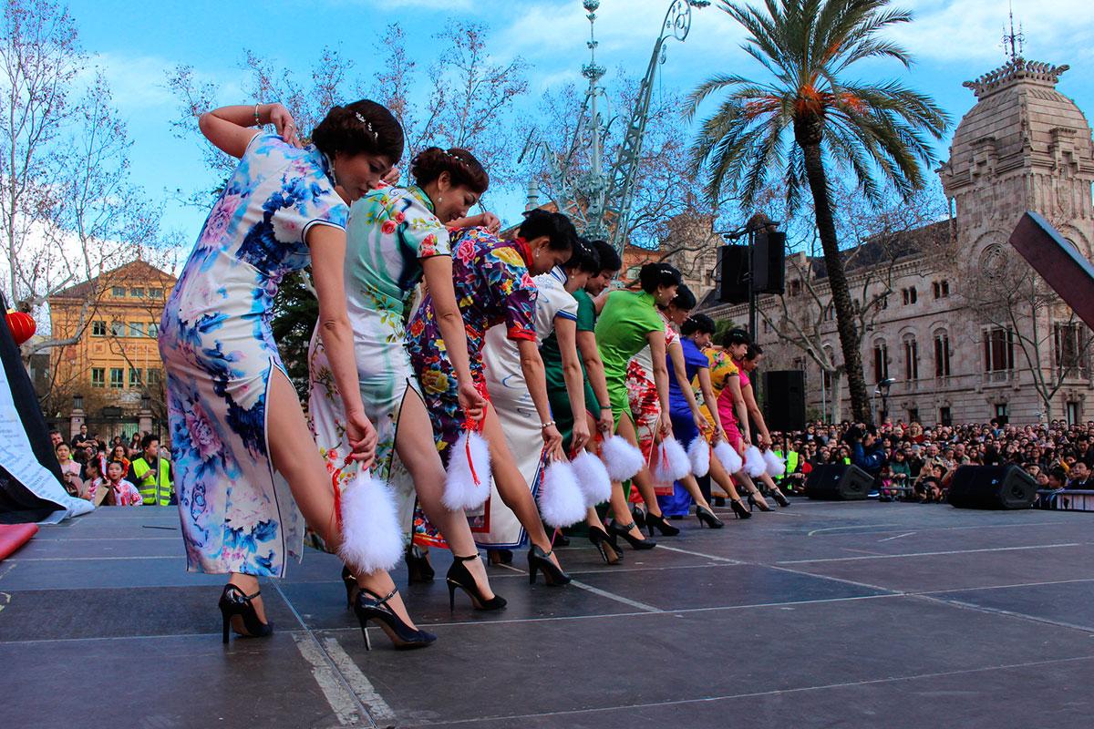 Año Nuevo Chino, Barcelona