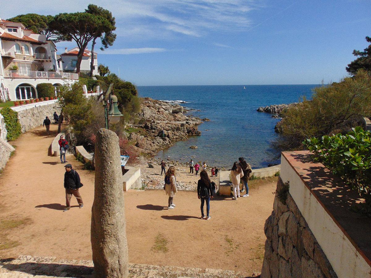 Camino de Ronda (Costa Brava): playa de S'Agaró. Foto: Anna Otero