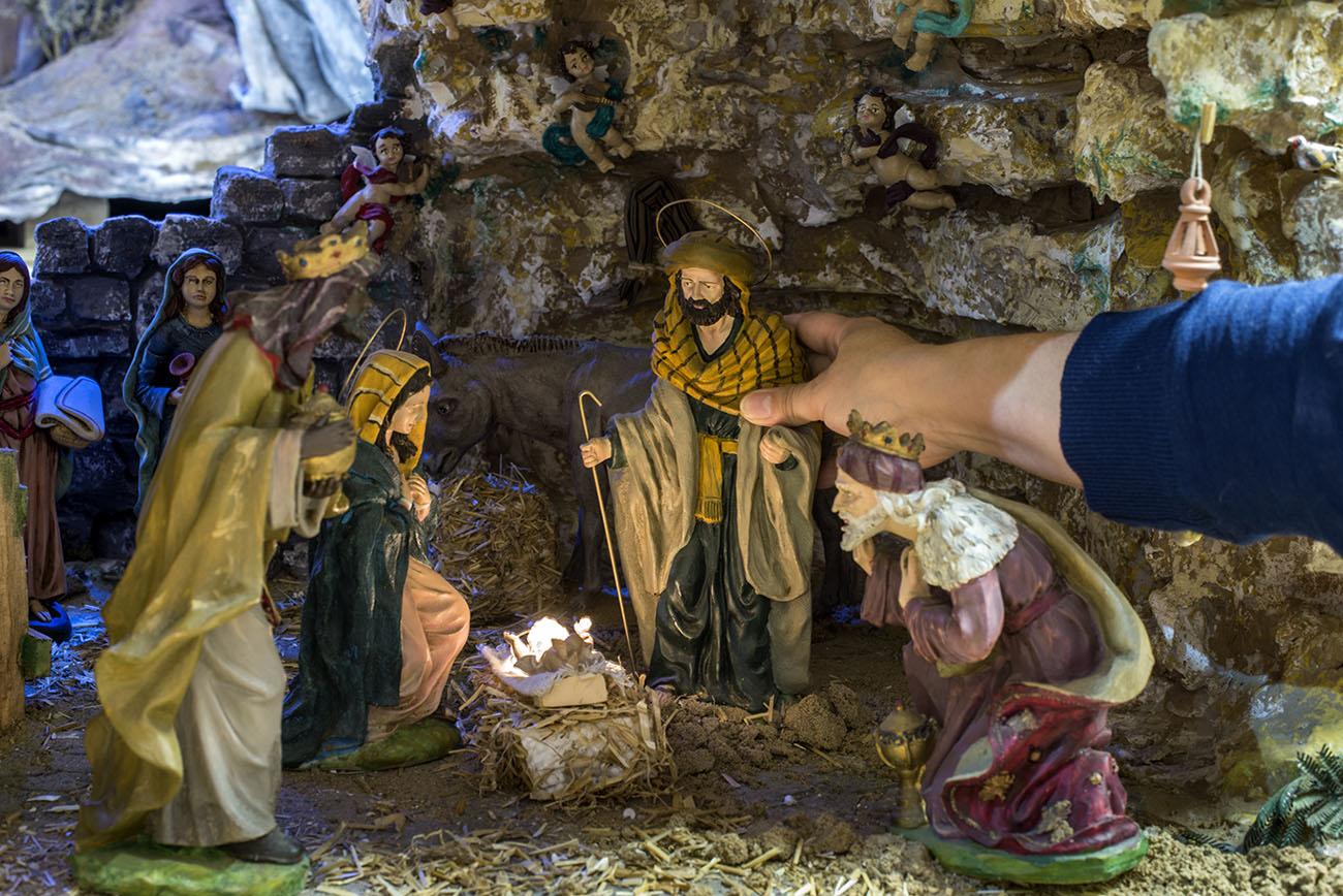 Belén Jerez de los Caballeros (Badajoz). Nacimiento. Foto: Alfredo Cáliz