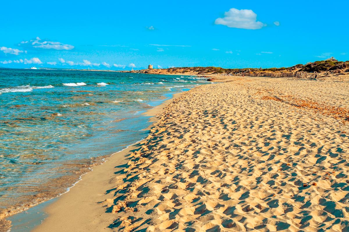 Es cavallets, playa, Ibiza