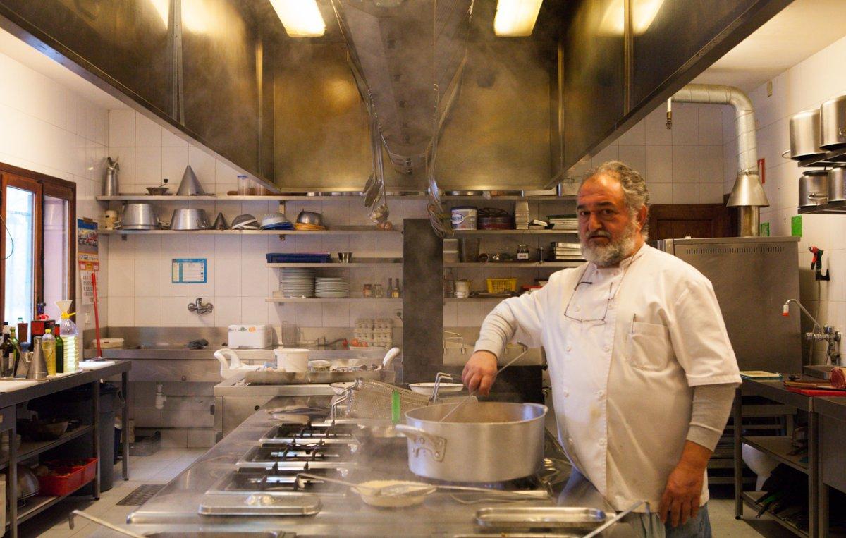 Restaurante Rascafría: 'Los Calizos' -chef de Miguel Ángel Ramírez-. Foto: Helena Poncini