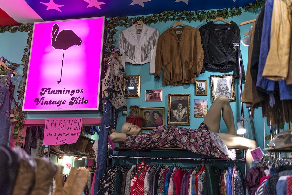 Ruta hawaiana: Flamingos Vintage.