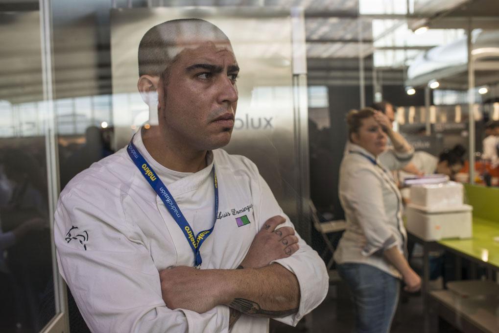 Luis Domínguez aún no sabe que él es el ganador.