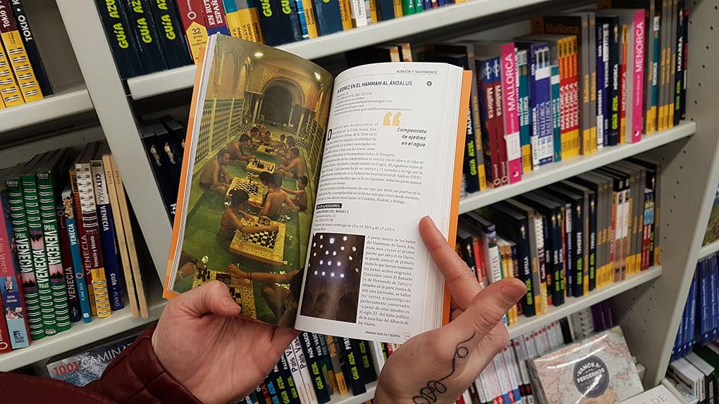 Libros de viajes. 'Granada: Insólita y Secreta'. Foto: Clara Peñalver