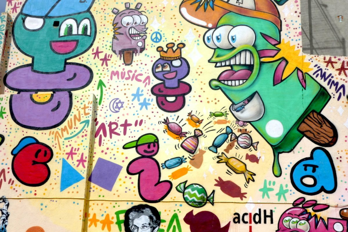 graffiti Gracià. Barcelona.
