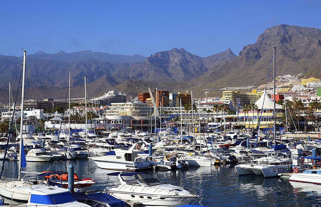 Puerto Colón, en Tenerife. Foto: Shutterstock