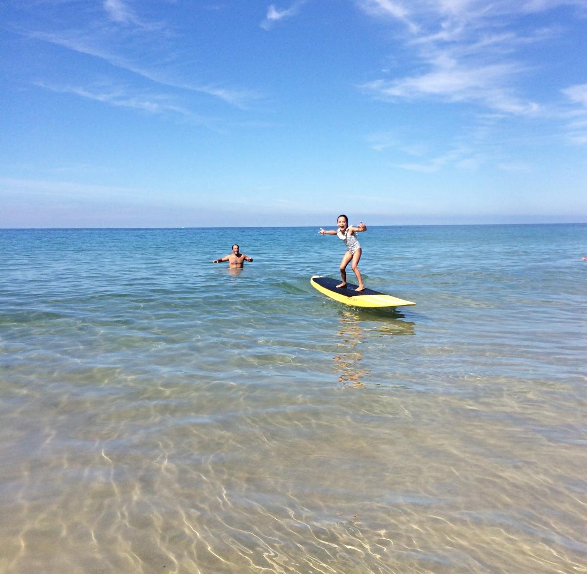 Surf en el Cantábrico