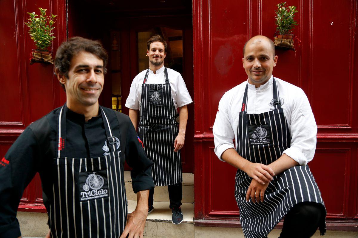 Tres barrios foodies de Madrid (Inspiraciones). Triciclo