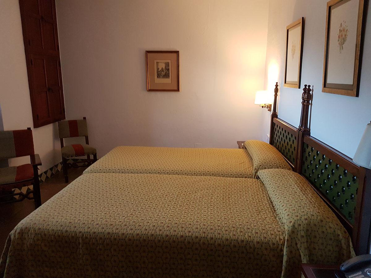 Habitación 22 del Parador de Jaén
