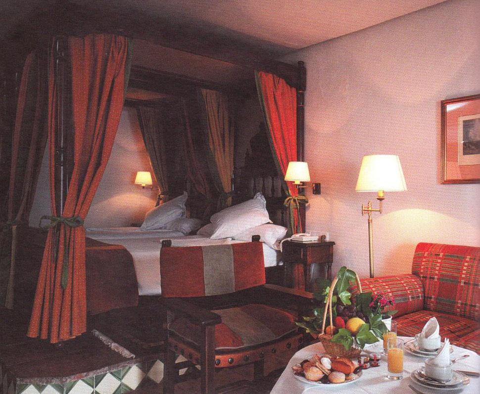 Habitación del Parador de Jaén donde se hospedó Charles De Gaulle. Foto: Paradores Nacionales