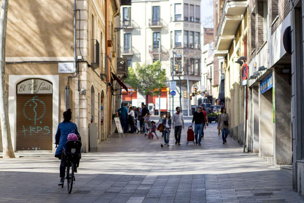 Calle Mayor de Sarrià