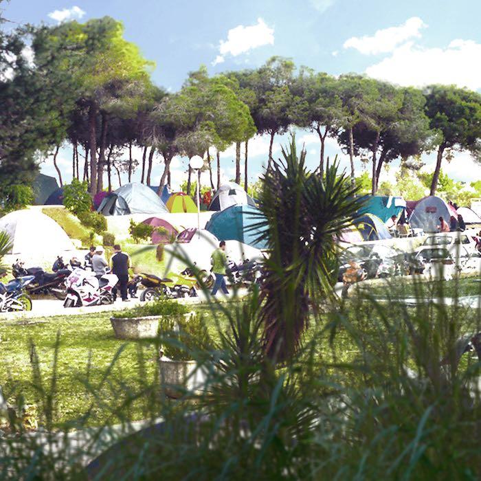 Festival motor circus en el puerto de santa mar a gu a for Camping el jardin de las dunas