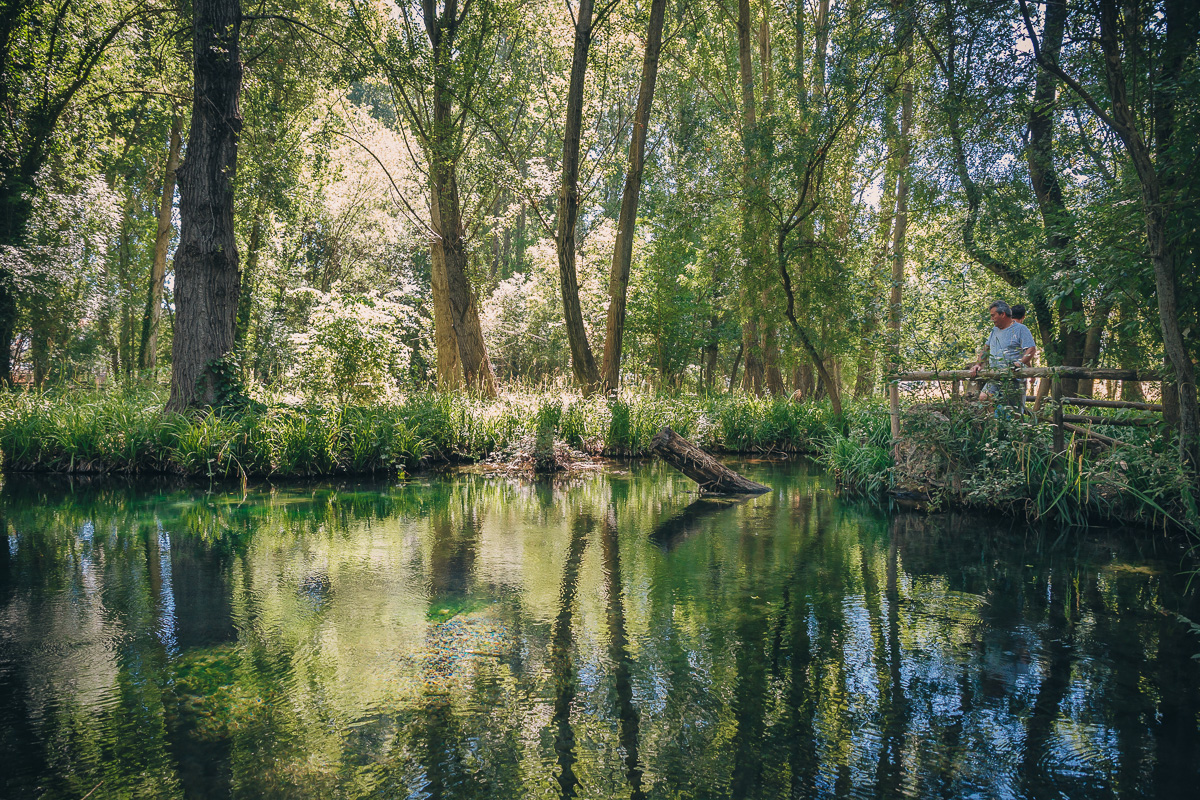 La laguna del río Huéznar, una joya natural. Foto: Javier Sierra