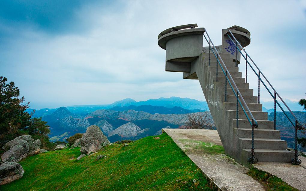 Mirador de Fito, Asturias