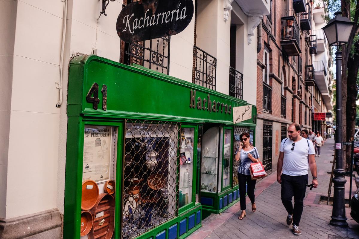 Kacharrería, Madrid