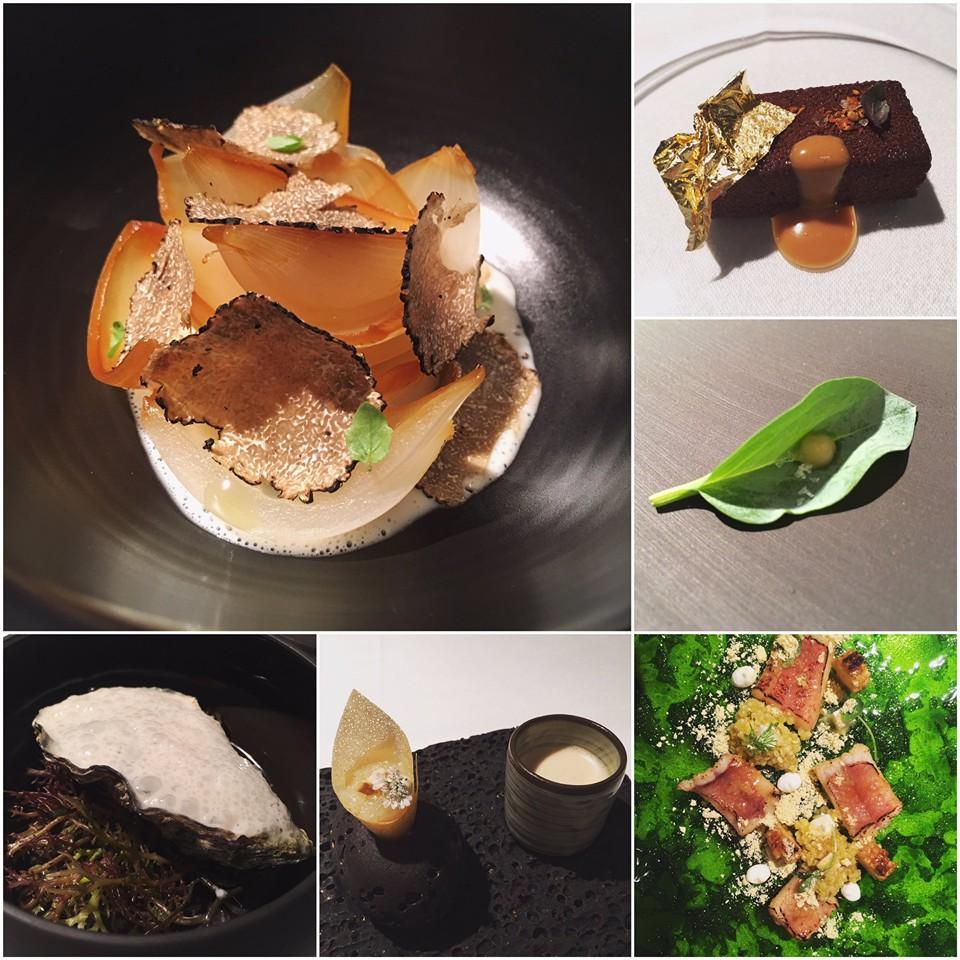 Platos del restaurante El Rincón de Juan Carlos